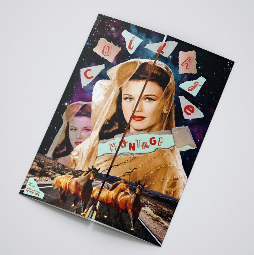 Collage Montage Brochure