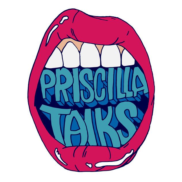 Priscilla Talks Logo, 2019