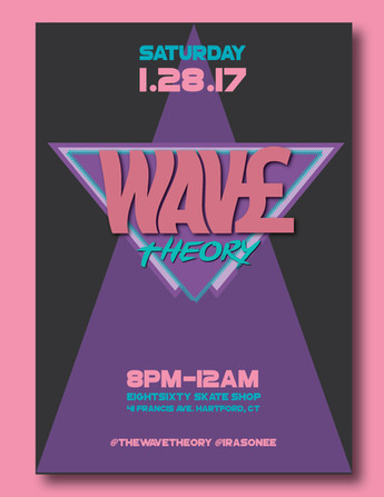 Wave Theory Event flier, 2017