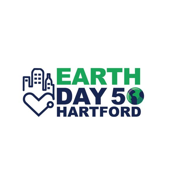 Earth Day 50 Hartford logo, 2020