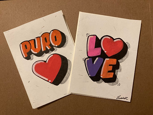 Puro amor & love SOLD