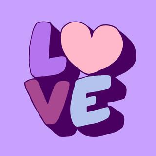 purple love, 2020
