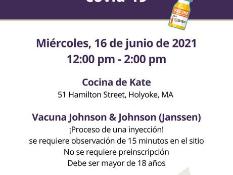 CLÍNICA DE VACUNACIÓN COVID-19, 16 JUN