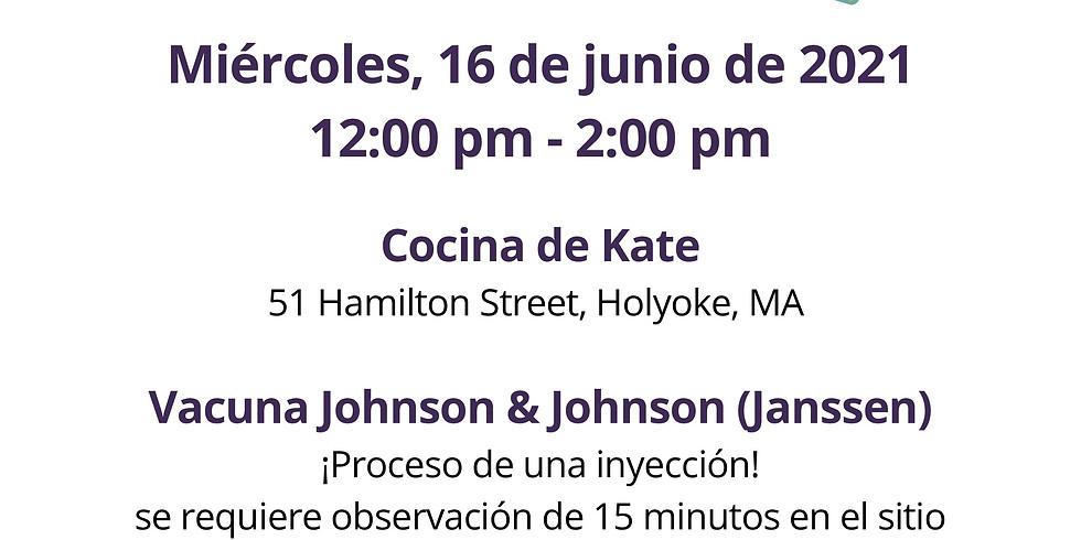 CLÍNICA DE VACUNACIÓN COVID-19 EN KATE'S KITCHEN