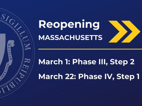 Massachusetts advances to Step 2 of Phase III