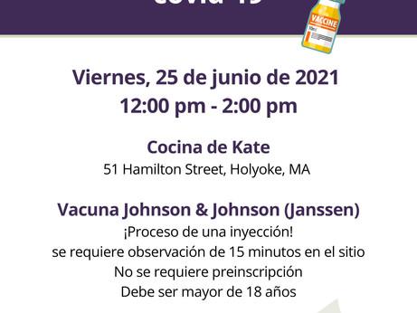 CLÍNICA DE VACUNACIÓN COVID-19, 25 JUN