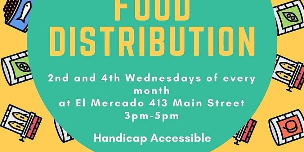 Food Distribution | Distribución de Alimentos