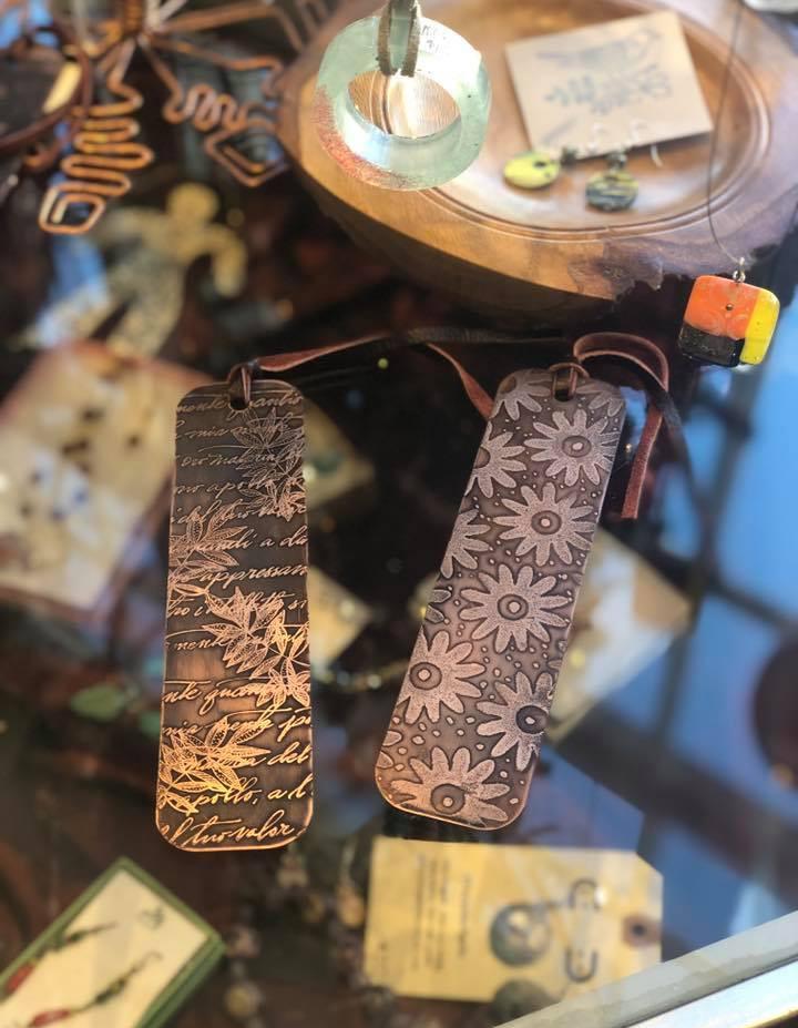 Copper Bookmarks