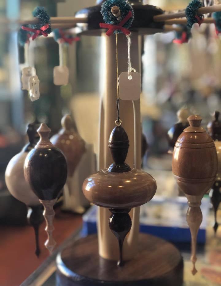 Handmade Wood Ornaments