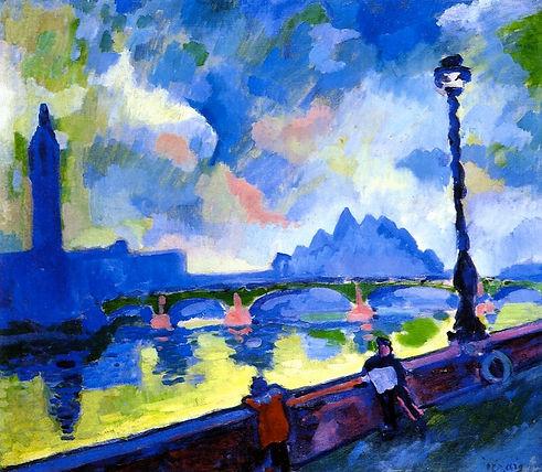The Thames Westminster Bridge Andre Dera