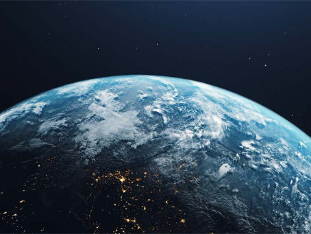 HOME - Earth Planet 3D Animation