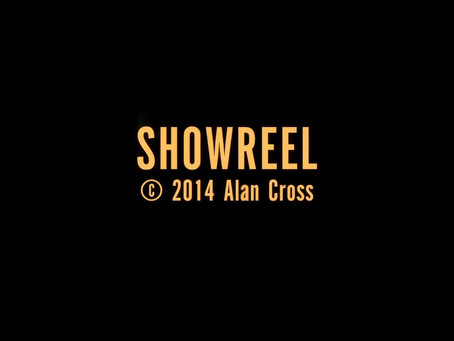 Alan Cross Showreel 2014