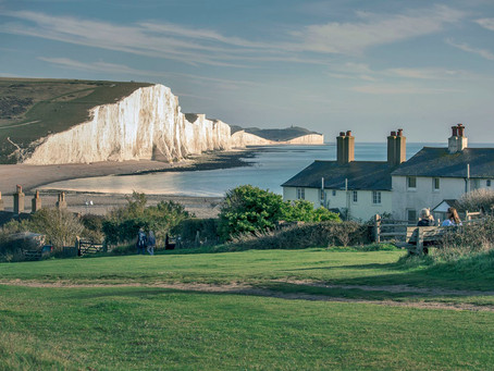 Seven Sisters Sunset - Aerial Drone Footage