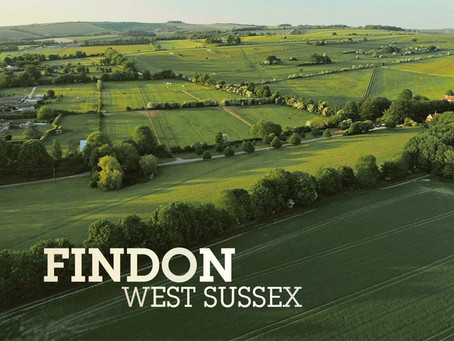 Findon, West Sussex - Aerial Stock
