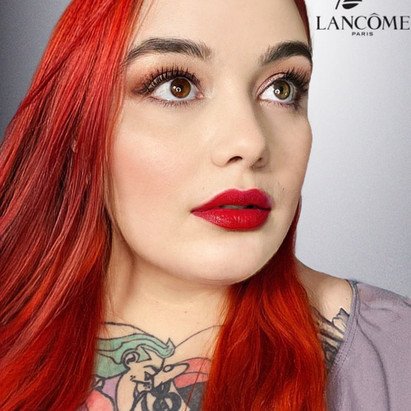 Lilith Fury with Lancome