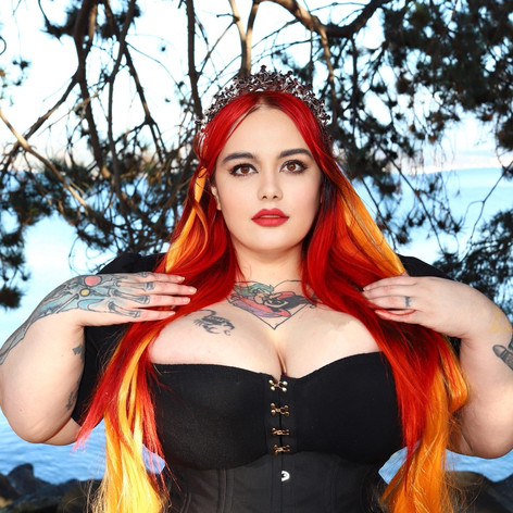Lilith Fury with Orchard Corset