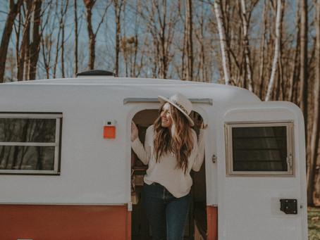 Vintage Boler Camper Renovation Reveal