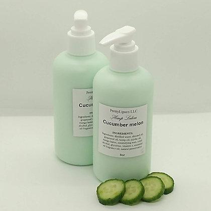 Cucumber Melon Hemp Lotion