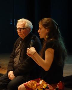 Frédérique Monblanc et Daniel Deshays
