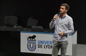 Samuel Belaud, médiateur scientifique à l'Université de Lyon
