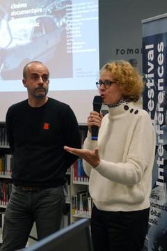 15 11 2019 - Bibliothèque Duguesclin - Cinq femmes - Thomas Renoud-Grappin (bibliothèque Duguesclin), Sandrine Lanno (réalisatrice)