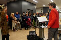06 11 2019 - Ouverture du festival - Université de Lyon - Nathalie Dompnier (Présidente de l'Université Lumière Lyon 2), Pascale Bazin (Interférences)
