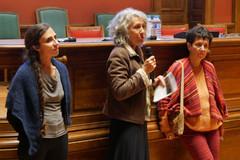 2018 11 14 - Laurence Tain (Sociologue), Pascale Dufraisse (Interférences), Béatrice Kammerer (Journaliste) - F.A.M.I.L.L.E - Université Lumière Lyon II