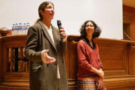 2018 11 13 - Margaux Chouraqui (Réalisatrice) et Yasmine Bouagga (Sociologue) - Exilés - Université Lumière Lyon II