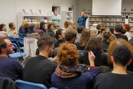 2018 11 09 - Christian Laval (Sociologue) et Emmanuel Pelletier (Interférences) - À l'infini - Bibliothèque du 3e