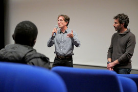 2018 11 08 - Alexandre Pieroni (Sociologue) - Julien Jay (Interférences) - Ondes noires - Théâtre Astree -