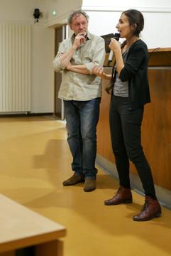 2018 11 12 - Yves Campagna (Interférences) et Béatrice Kammerer (Journaliste) - La place de l'homme - ENS