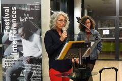06 11 2019 - Ouverture du festival - Université de Lyon - Pascale Dufraisse (Interférences)