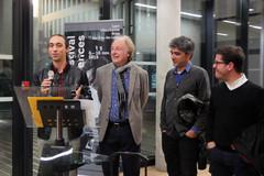 06 11 2019 - Ouverture du festival - Université de Lyon - Raphaël Jaudon, Jean-Yves Loude, Rodrigo Areias, Eduardo Brito