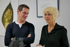 2018 11 08 - Laurent Schmitt et Pascale Bazin  (Interférences) - À ma mesure - Théâtre Astrée