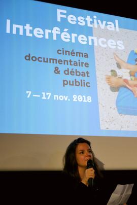 2018 11 13 - Lise Rivollier (Interférences) - Cittàgiardino - Cinéma Lumière Bellecour