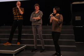 14 11 2019 - Cinéma le Zola - Brise-lames - Jérémy Perrin et Hélène Robert (réalisateurs), Chiharu Chujo (Docteure en études japonaises à l'Université Jean Moulin Lyon 3)