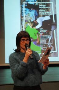 Julie Borgeot, modération