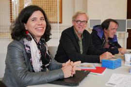 2018 11 13 - Céline Dugny, Dominique Savoyat et Louis Esparza (Interférences) - Université Lumière Lyon II