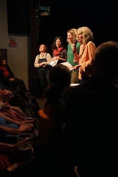 16 11 2019 - Le Périscope - Soirée de clôture - Clémence Toquet, Céline Dugny, Pascale Bazin, Pascale Dufraisse (Interférences)