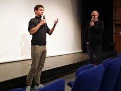 07 11 2019 - Théâtre Astrée - Carnets 88 - Sylvain Yonnet (réalisateur), Jean-Marc Grefferat (Interférences)