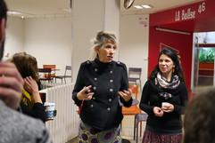 15 11 2019 - MJC de Villeurbanne - Compétition documentaire de création - Pascale Bazin et Céline Dugny (Interférences)
