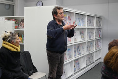 15 11 2019 - Bibliothèque Duguesclin - Cinq femmes - Bernard Bolze (Prison Insider)