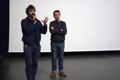 09 11 2019 - Le Rize - Séance Aux marges de la ville - Jérémy Gravayat (réalisateur), Francis Forge (collectif Météorites)