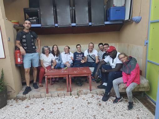 Le foyer de travailleurs handicapés AJTH de Saint Chély d'Apcher chez Eveil et Partage