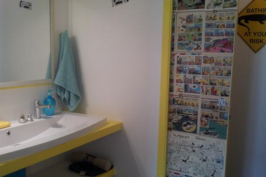 vasque et wc collectifs dortoir