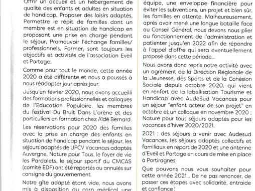 Bulletin municipal 2020