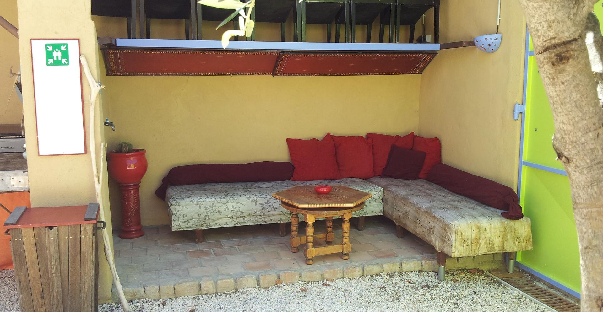 salon de jardin du gite