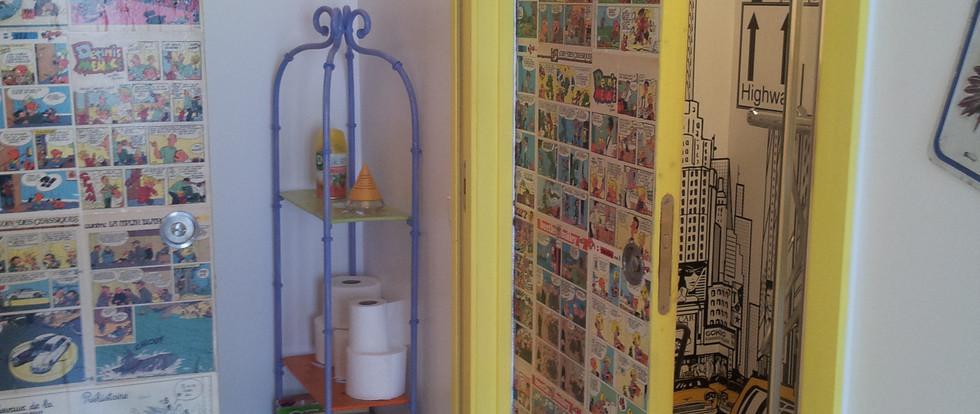 douche et wc collectifs dortoir