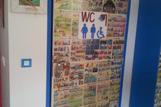 entrée salle d'eau PMR