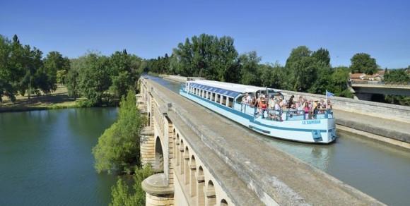 Pont Canal au dessus de l'oOrb